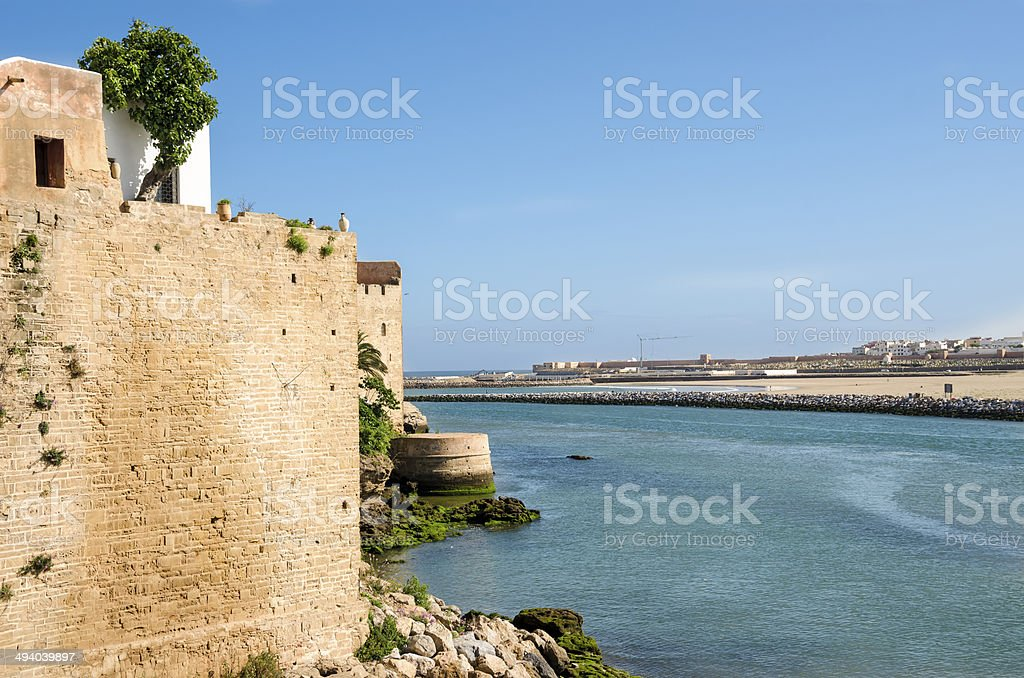 Bou Regreg River stock photo