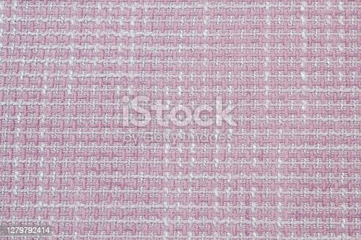 Boucle suiting fabric background texture