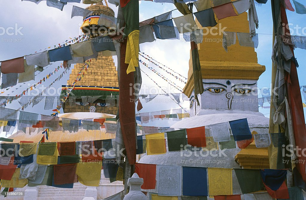 Boudhanath, Kathmandu, Nepal royalty-free stock photo