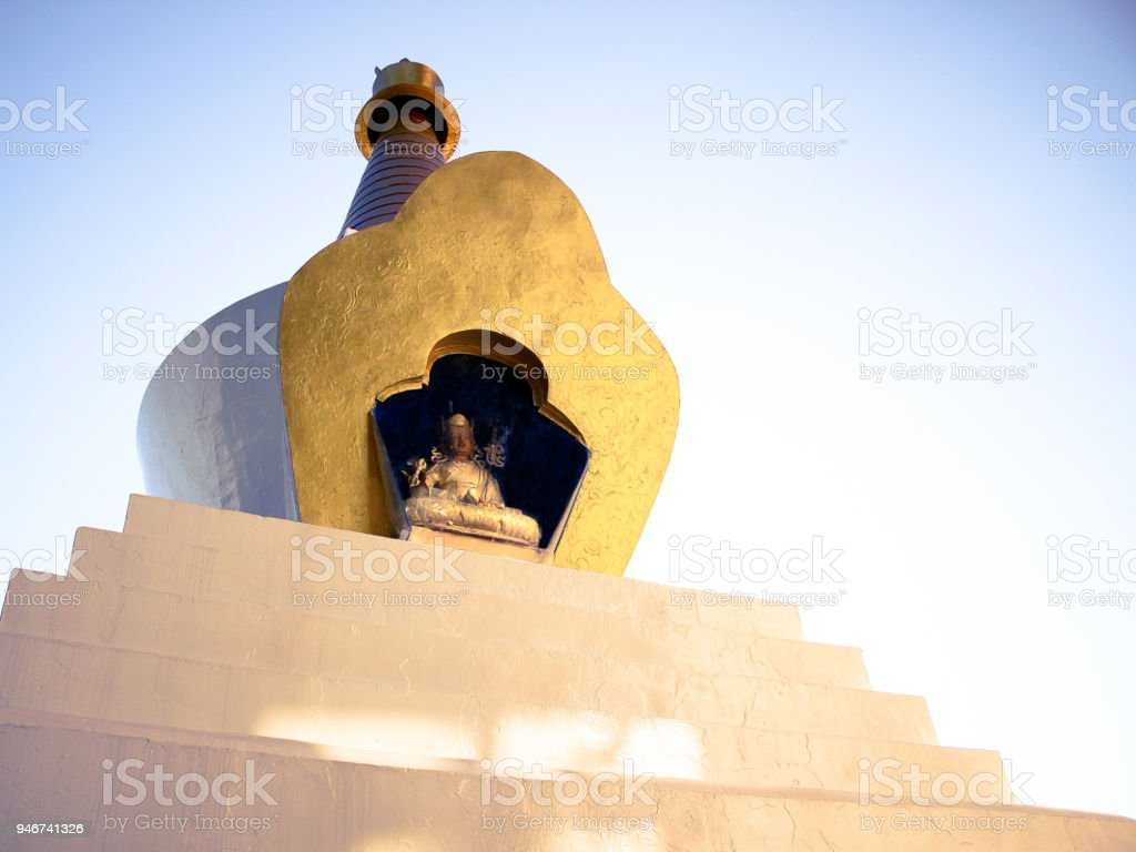 Boudhanath Stupa in Kathmandu valley, Nepal. stock photo