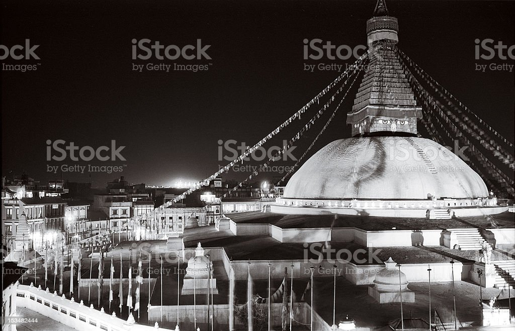 Boudhanath Stupa royalty-free stock photo