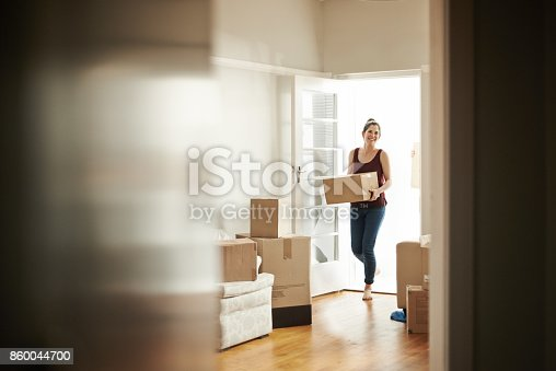istock I bought the house of my dreams 860044700