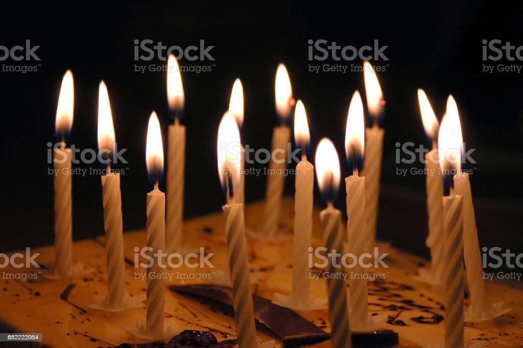 Bougies d'anniversaire - Photo