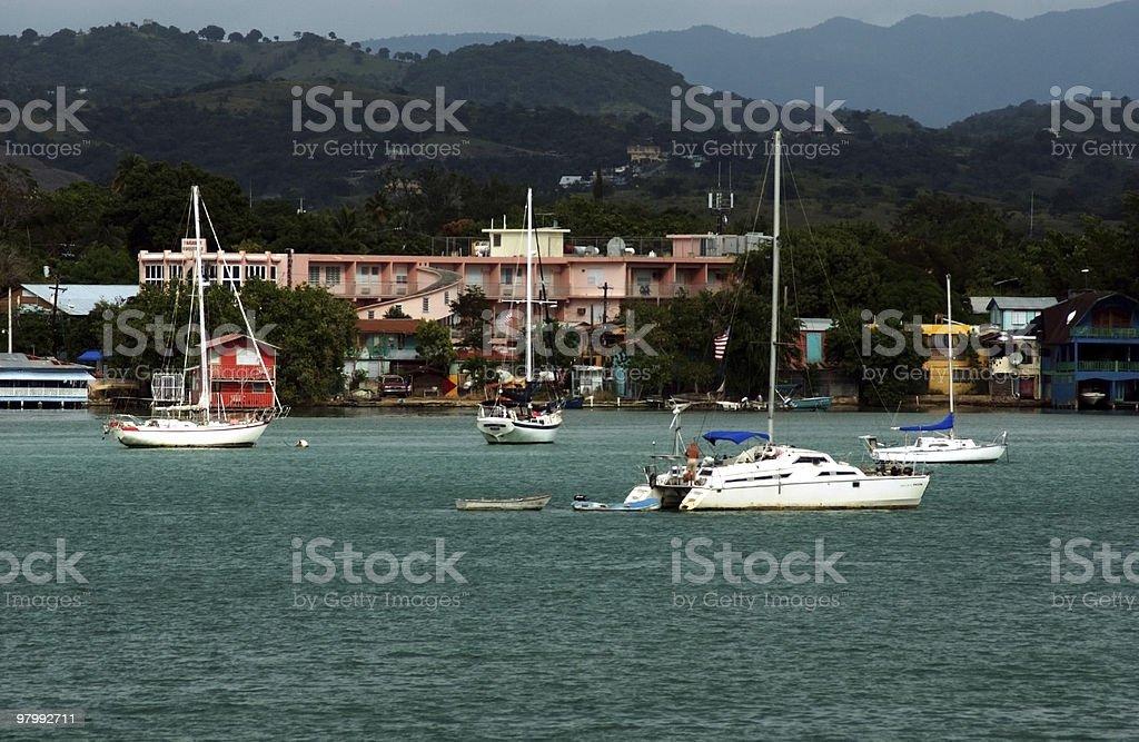 Bouguran Sail Boats royalty-free stock photo