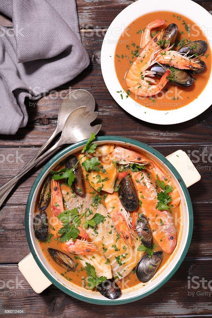 bouillabaisse, französische Gericht – Foto