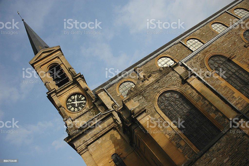 Bouillon Church royalty-free stock photo