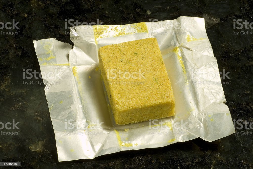 bouillon cube stock photo