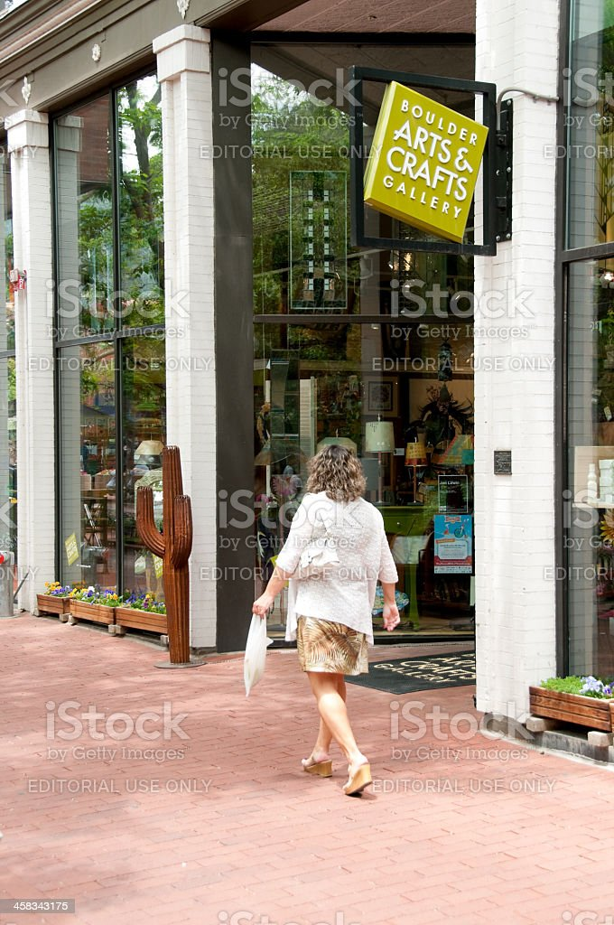 Boulder Arts and Crafts Gallery royalty-free stock photo