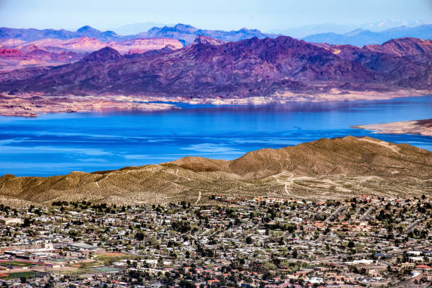 boulder city and colorado river - clark county nevada stock pictures, royalty-free photos & images