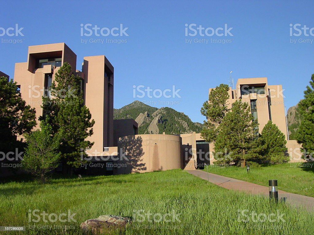 NCAR Boulder, Colorado royalty-free stock photo