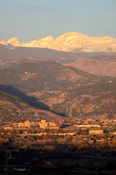 Boulder Colorado stock photo