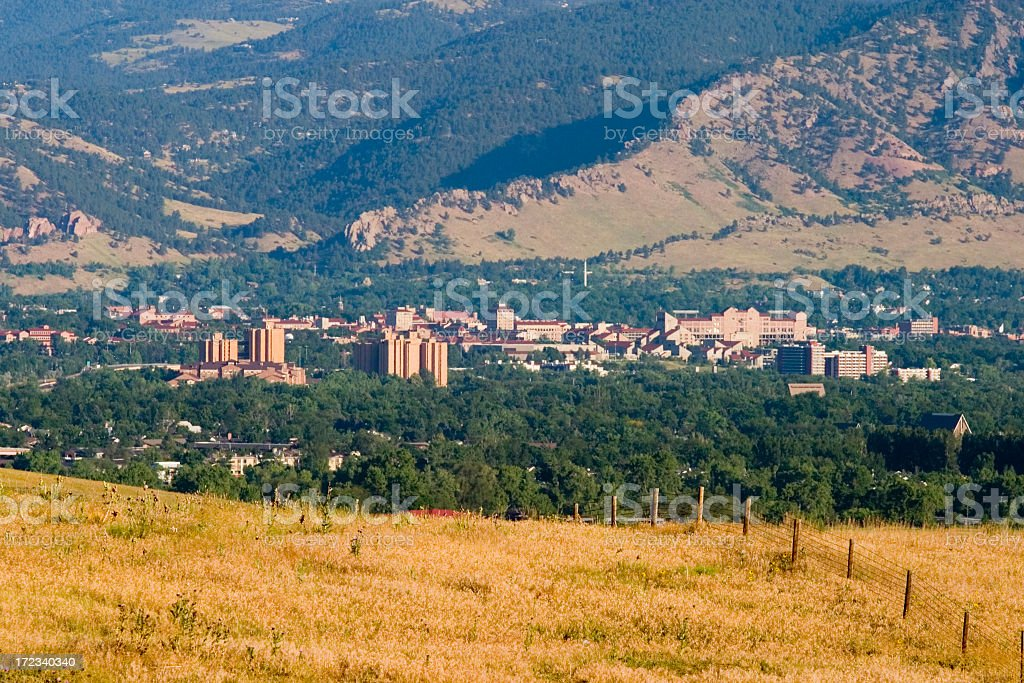 Boulder in the Distance royalty-free stock photo