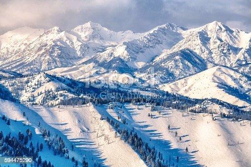 Boulder Mountains Winter - Idaho