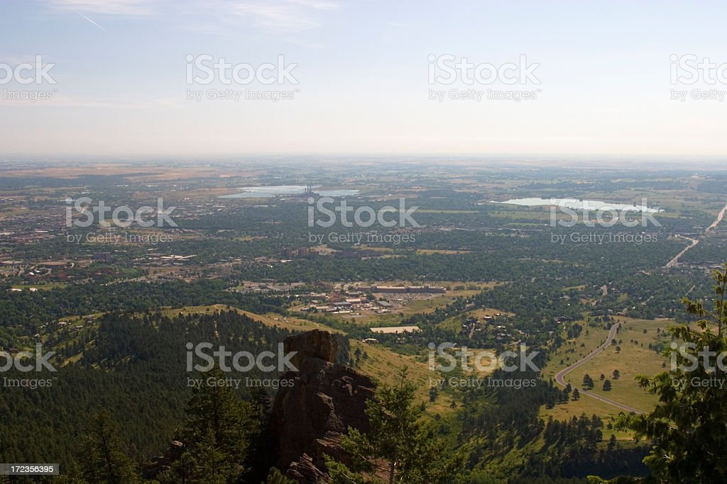Boulder Valley royalty-free stock photo