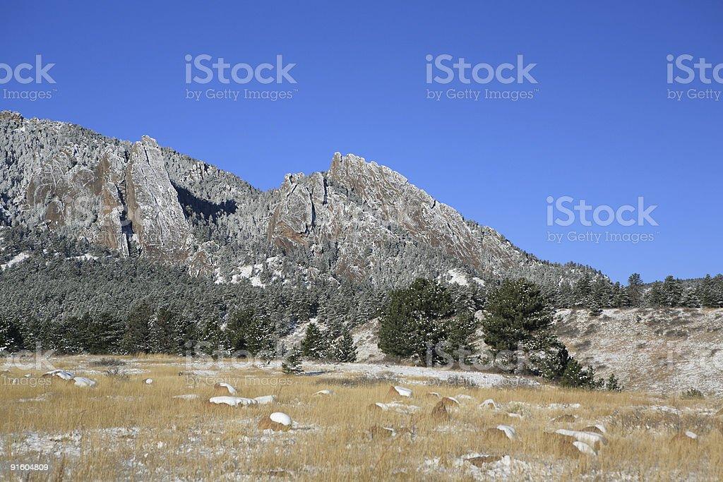 Boulder,Colorado royalty-free stock photo