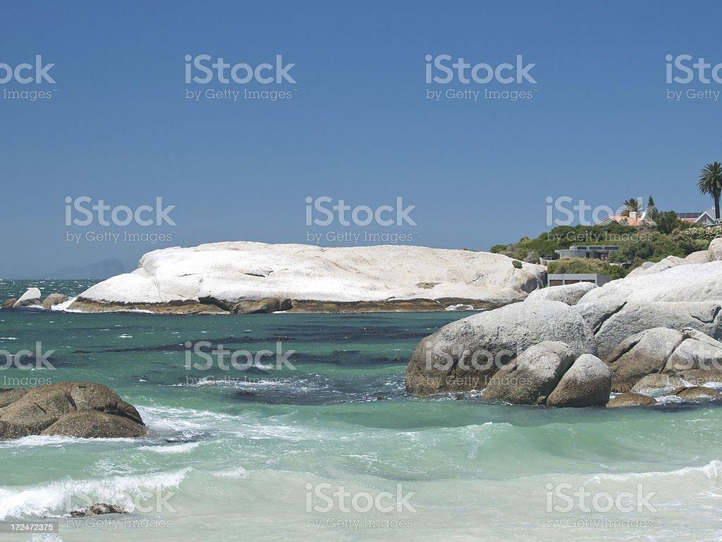 Boulders Bay royalty-free stock photo