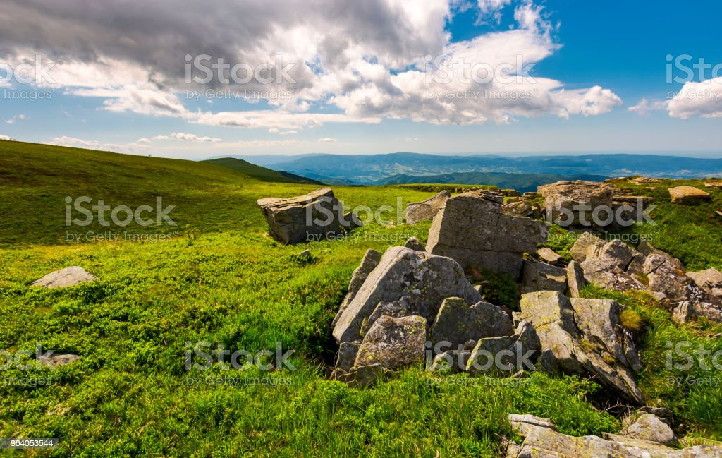 boulders on top of Runa mountain - Royalty-free Beauty Stock Photo