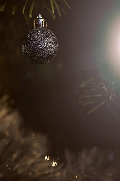 Boule de Noël sur sapin Boules de Noël sapin noel stock pictures, royalty-free photos & images