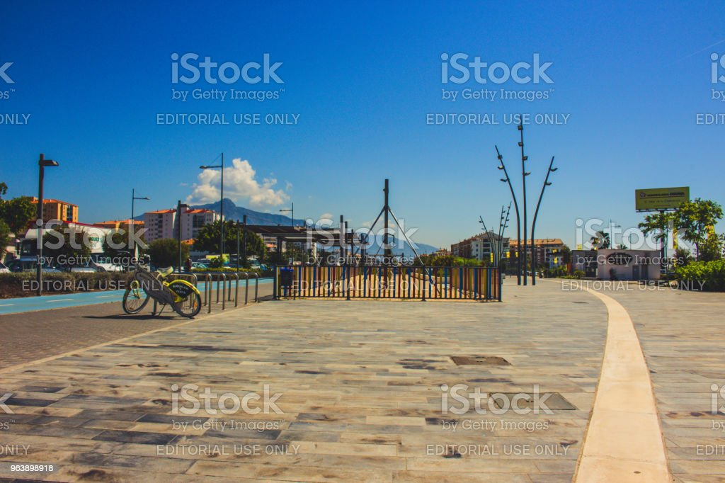 Boulevard San Pedro de Alcantara. - Royalty-free Andalusia Stock Photo