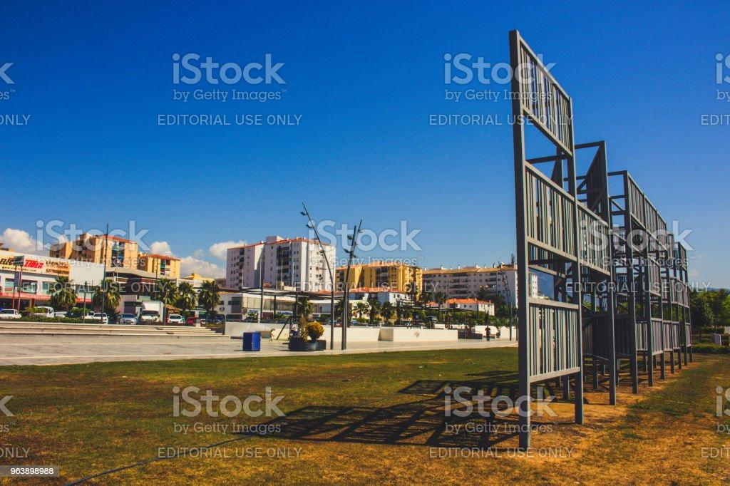 Boulevard San Pedro de Alcantara. - Royalty-free Andalusia Stock Photo
