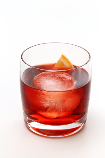 Boulevardier, classic french drink