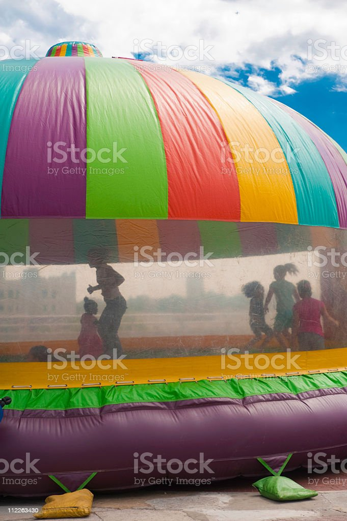 Bounce Castle royalty-free stock photo