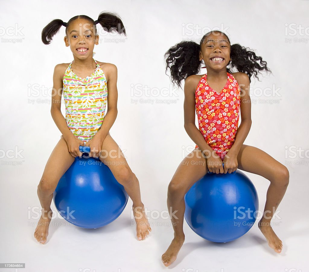 Bounce royalty-free stock photo