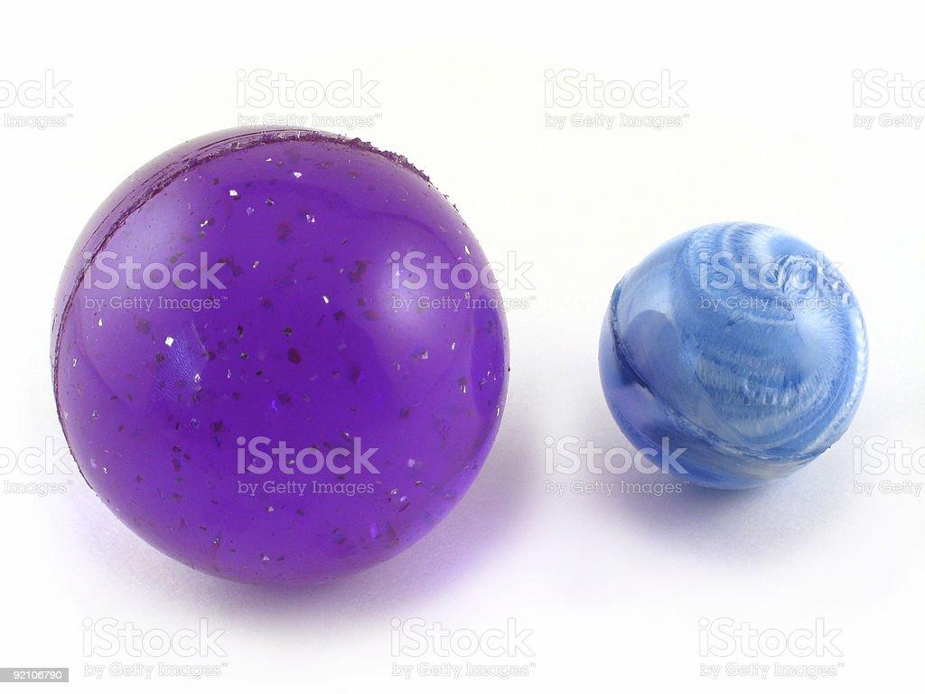 Bouncing Balls royalty-free stock photo