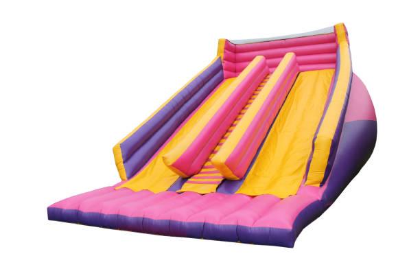 Bouncy Castle Slide. stock photo