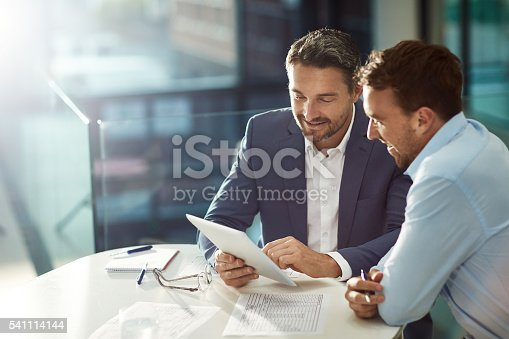 istock Bound by business 541114144