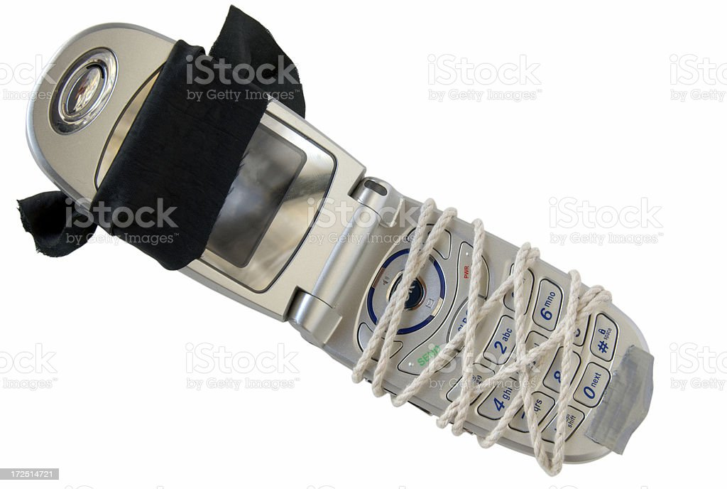 Bound by Minutes royalty-free stock photo