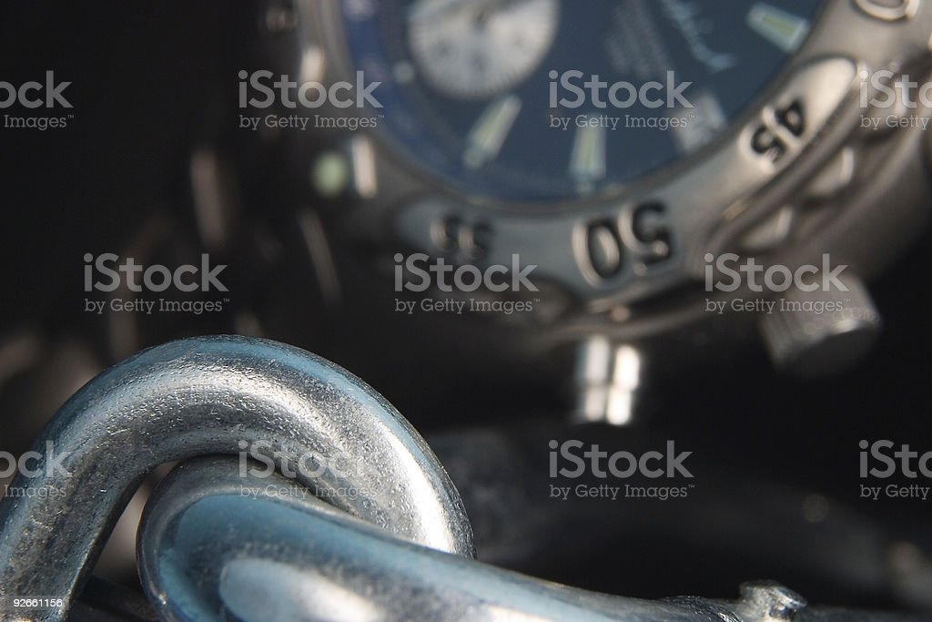 Bound by time royalty-free stock photo