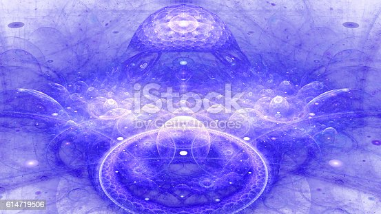 istock Boundaries of universe. Infinity knowledge. 614719506
