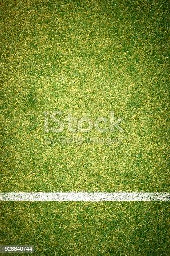 istock A boundary line on a soccer field 926640744