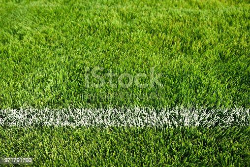 186856750 istock photo A boundary line on a soccer field 971791760