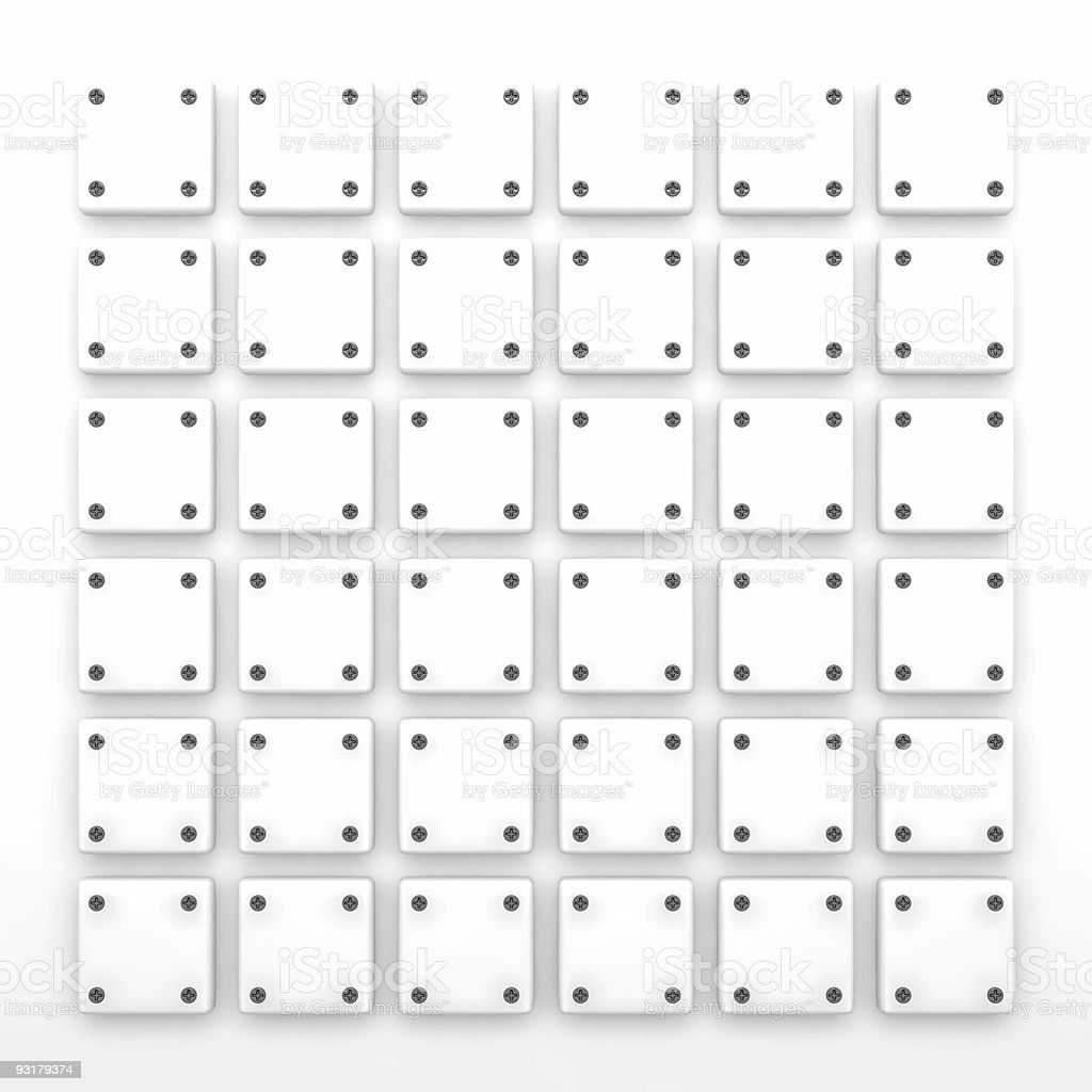 bounded white plastic tablets royalty-free stock photo