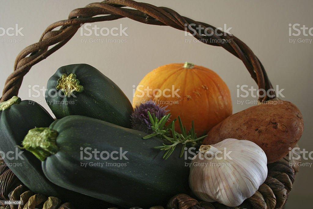 Bountiful harvest royalty-free stock photo