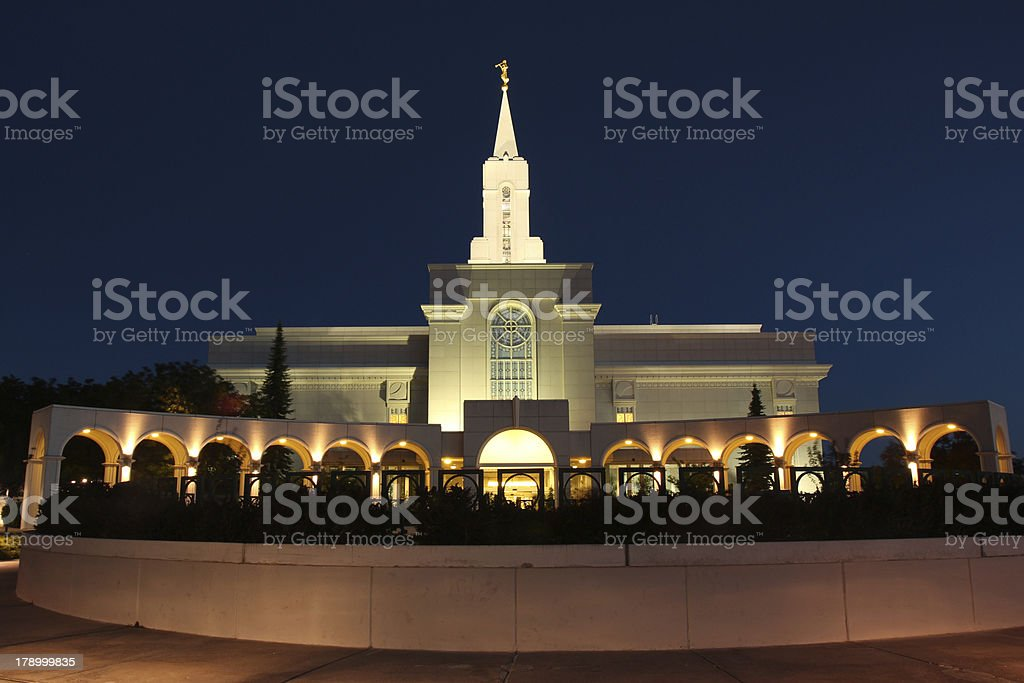 Bountiful Temple royalty-free stock photo