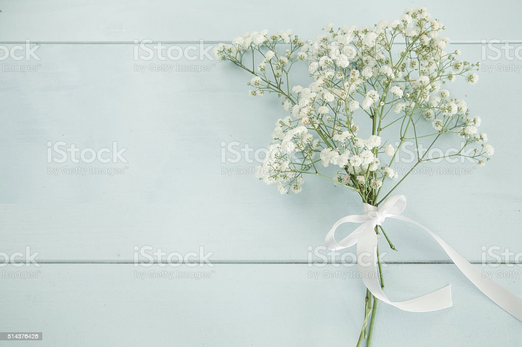 Bouquet background stock photo