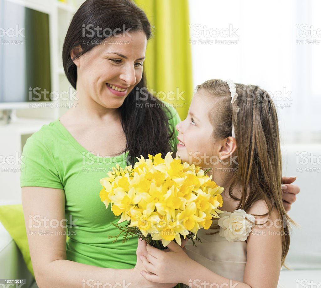 Bouquet for my mother royalty-free stock photo