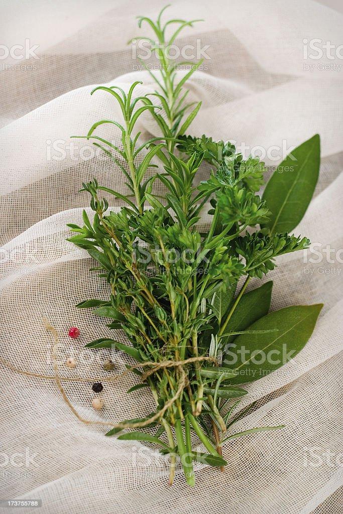 Bouquet Garni royalty-free stock photo