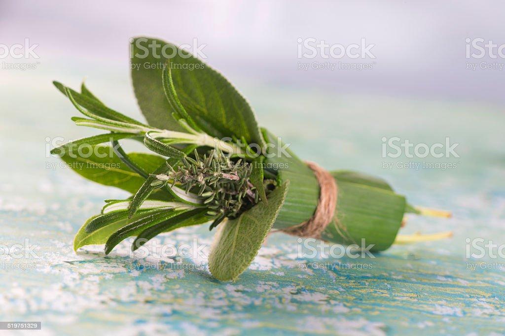 bouquet garni stock photo