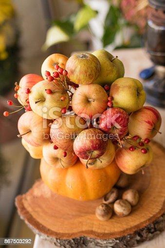 istock Bouquet of apples 867503292