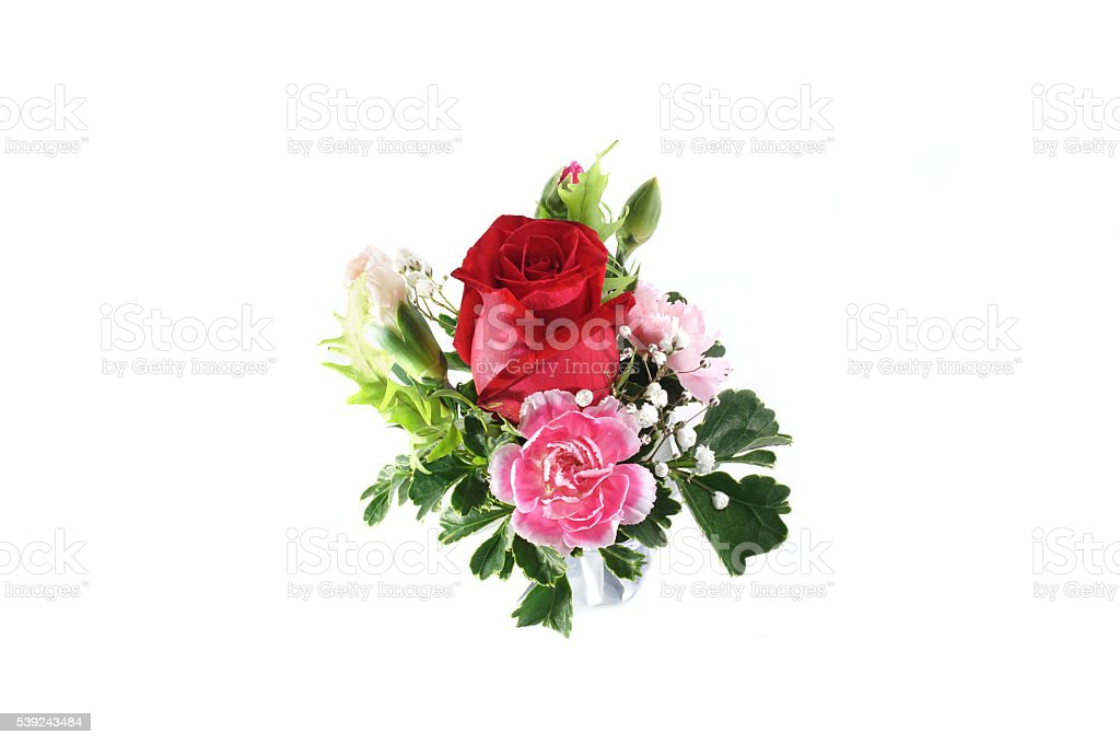Bouquet of beatiful flowers royalty-free stock photo