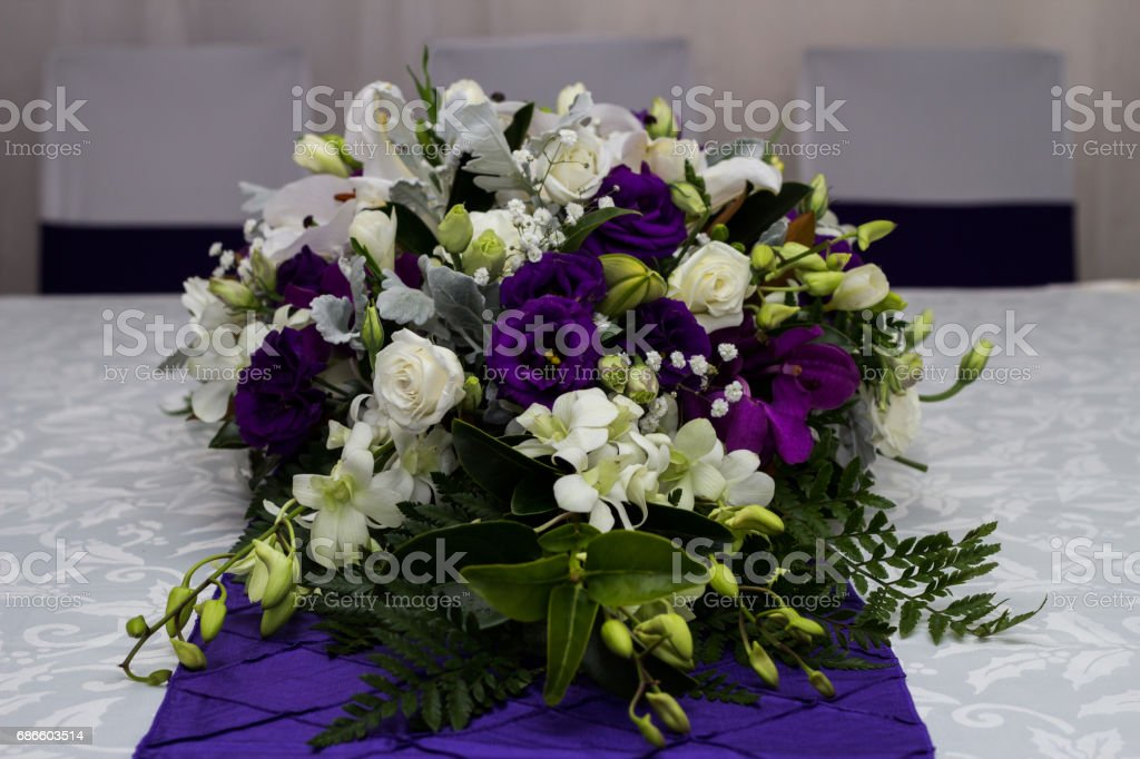 A Bouquet of Beautiful Flowers royalty-free stock photo