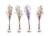装飾用ドライフラワー カスミソウの花束