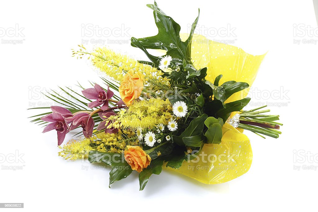 Bouquet of flower royalty-free stock photo