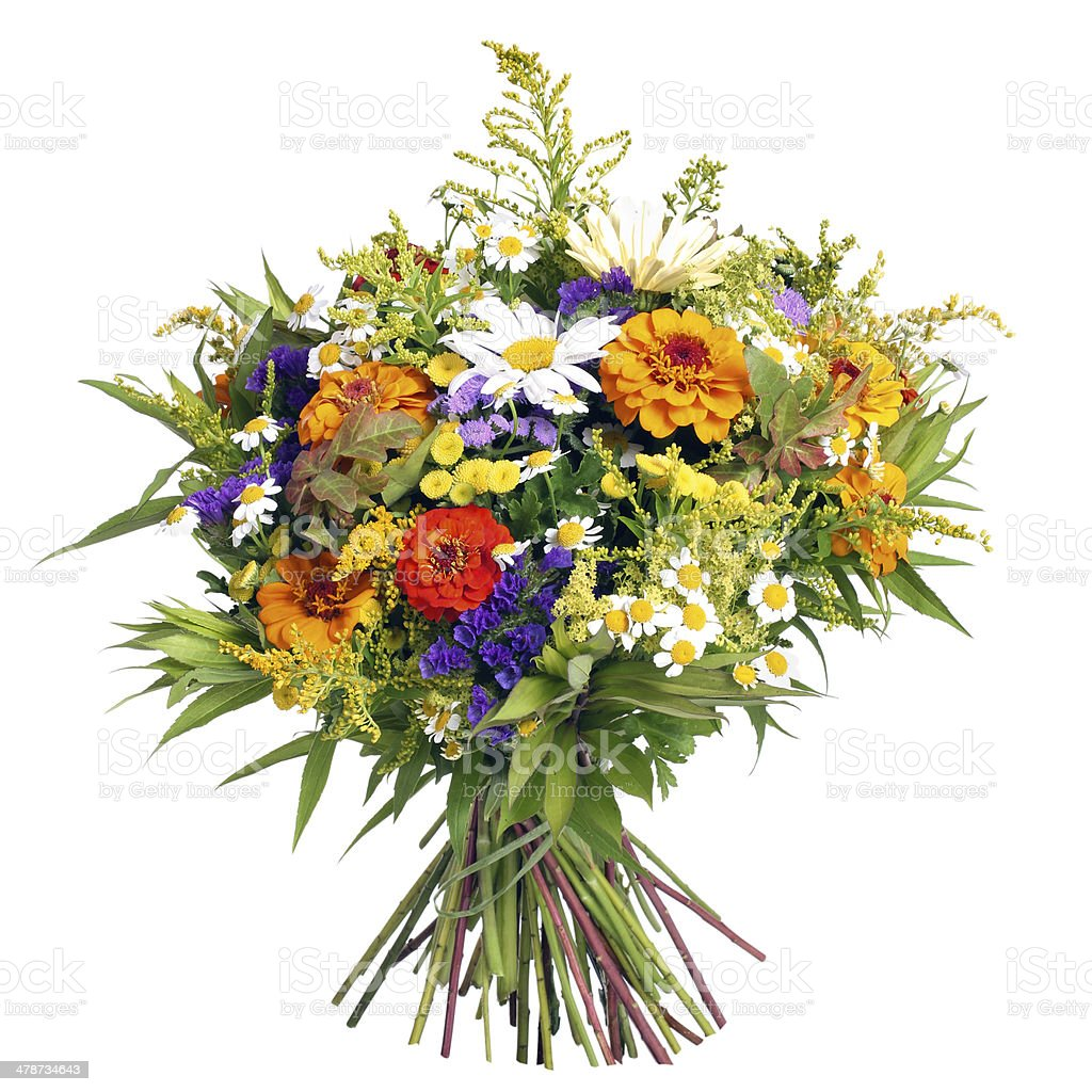 Bouquet Of Flowers From Farmers Garden Stock Photo Istock