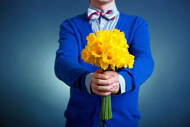Von Blumen Blumenstrauß – Foto