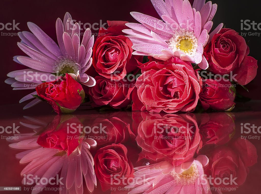 Bouquet of Love royalty-free stock photo